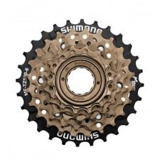 Catraca Roda Livre Shimano Index 6v TZ500 14/28D Bronze Preto