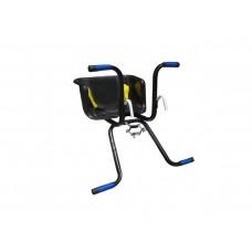 Cadeirinha Criança Bicicleta Assento Stilo C/ Cinto Preto
