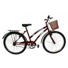 Bicicleta Aro 24 Juvenil Feminina Mod Ceci Dolphin Vermelho