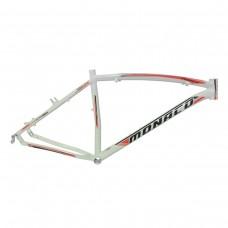 Quadro 26 Aluminio Disco 17 Pegasus Branco Brilhante c/ Vermelho