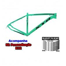Quadro 29 Aluminio KTR Action Disco 21 Verde Anis C/ Preto