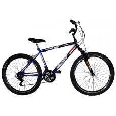 Bicicleta Aro 26 MTB Aero Suspensão 18 Marchas