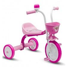 Kit Triciclo Infantil You3 Girl Feminino Rosa