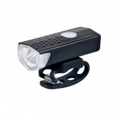 Farol Bike Lanterna D-2255 300 Lumens Mini Usb Recarregável