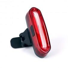 Lanterna Farol Led Bicicleta AQY-096# Usb Recarregável Luz 2 Cores