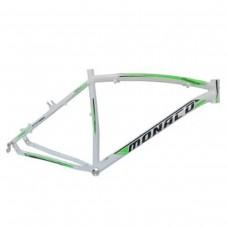 Quadro 26 Aluminio Disco 19 Pegasus-Branco Brilhante c/Verde