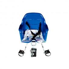 Cadeirinha Crianca Dianteira Carona Bike Azul