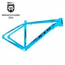 Quadro 29 Aluminio KTR Adventure Disco 19 Azul Bri Preto