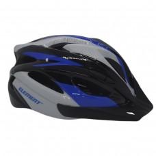 Capacete Ciclismo Element DG-038 C/ Led Adulto Grande Azul