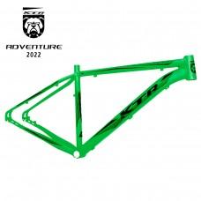 Quadro 29 Aluminio KTR Action Disco 19 Verde Neon C/ Preto