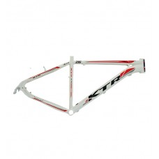 Quadro 26 Aluminio Disco 15 KTR XT Branco Bri C/Vermelho