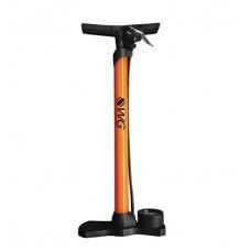 Bomba Bicicleta Grande Aço Com Manometro 160psi