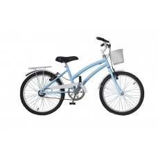Bicicleta Infantil Aro 20 Mod Cecizinha Dolphin Azul Bebê