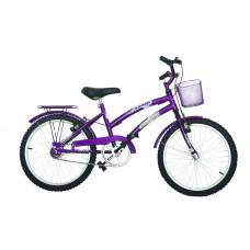 Bicicleta Infantil Aro 20 Mod Cecizinha Dolphin Violeta