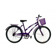 Bicicleta Aro 26 Adulto Feminina Mod Ceci Dolphin Violeta