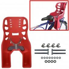 Cadeirinha Crianca Traseira Bagageiro Carona Bike Vermelho