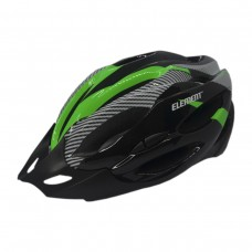 Capacete Ciclismo Element DG-015 C/ Led Adulto Grande Verde