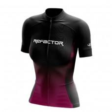 Camisa Ciclismo Refactor Universe Tam. P Rosa