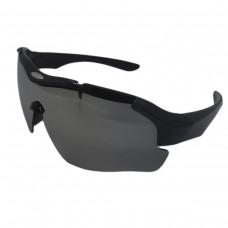Óculos Ciclismo Esporte New Street Marrom C/ Lente Espelhada