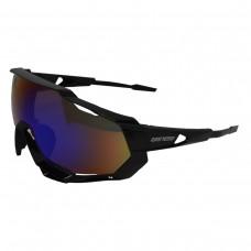 Óculos Ciclismo Esporte Elite Preto C/ Lente Espelhada