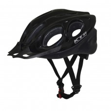 Capacete Ciclismo Bike MTB/SPEED Adulto Flash Preto C/Ajuste