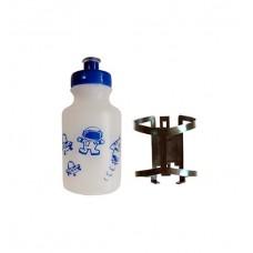 Garrafa Squeeze Standard 200ml Azul / Transparente