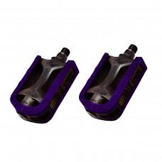 Pedal Mtb 1/2 Export Bicolor Preto com Violeta