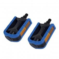 Pedal Mtb 1/2 Export Bicolor Preto+Azul